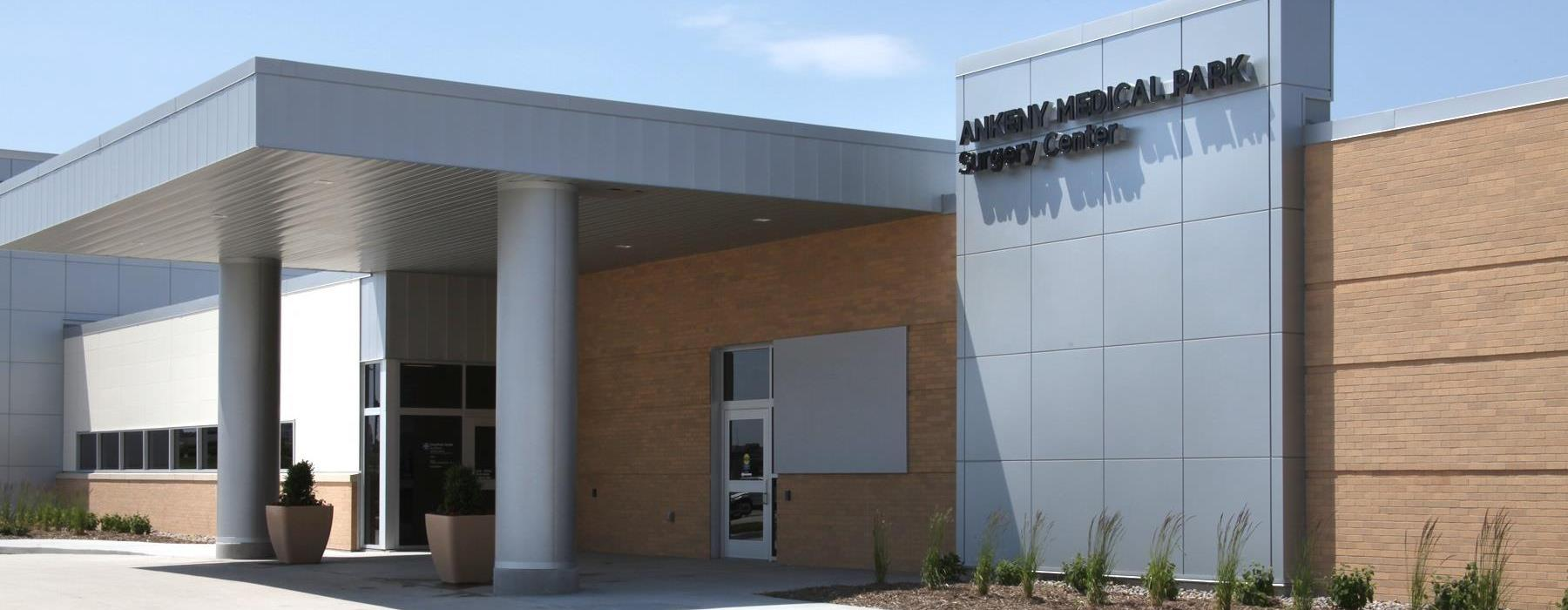 front of ankeny medical park surgery center